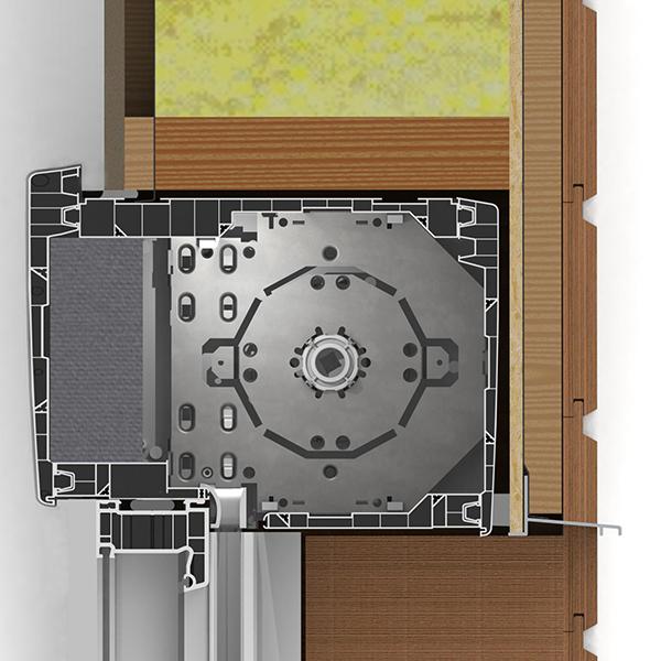 GVR.e 205 pose sur maison ossature bois