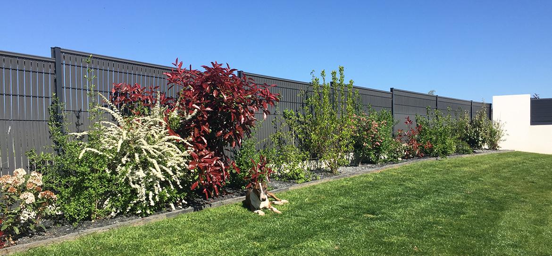 occultation jardin clôture Eclipse ligne Protection