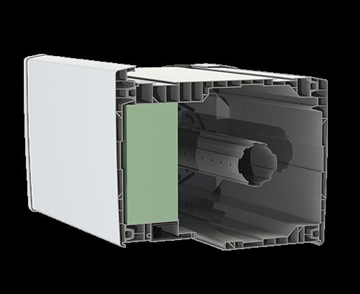 Coffre de 205mm à enroulement extérieur GVR.e 205