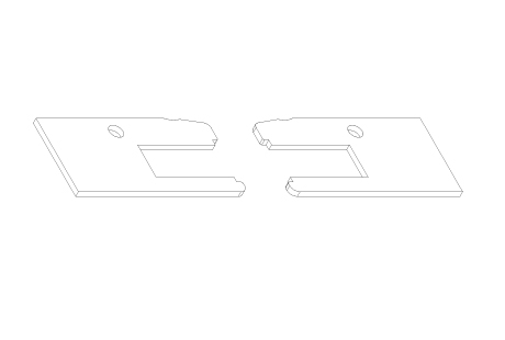 AC002 Plaquettes d'étanchéité pour VR004 et VR014