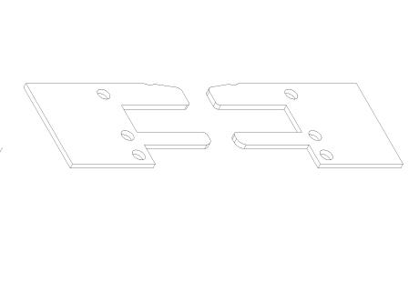 AC008 Plaquettes d'étanchéité pour VR008 et VR018