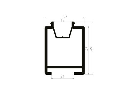 DI010 Cale de transport 37x49 - PL - à clipper