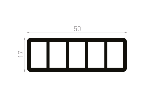 DI016 Cale de soutien 50x17