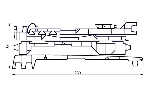 VRKI3C Kit 235 mm 5 planches : VR024 + VR026 + VR054F + VR069 + VR070