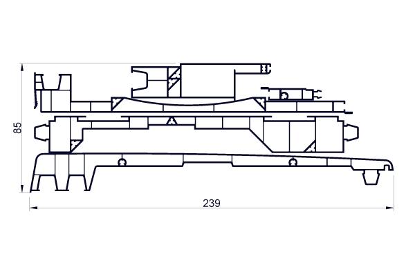 VRKI3D - Kit 5 planches pour intégration BSO 235 MM - VR022 + VR024 + VR026 + VR069 + VR070