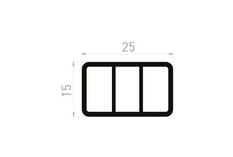 ME089 Tube de calage 25x15