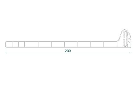 VR037 Sous-face 200 mm
