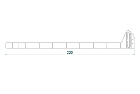 VR037 Sous-face 200mm