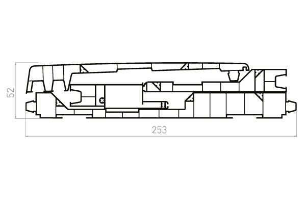 VRKE1 Kit 4 planches VR020F+VR021+VR022+VR023