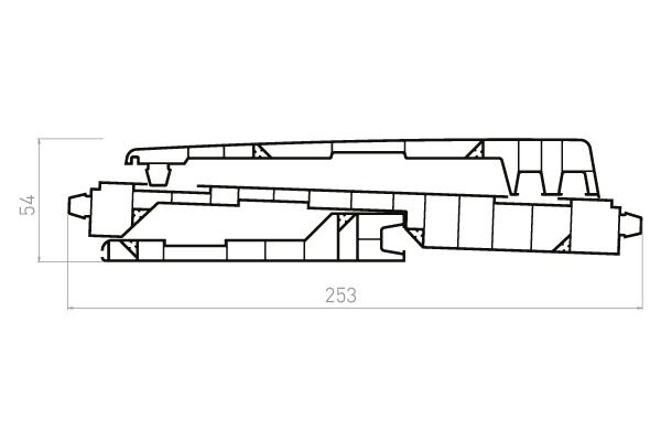 VRKE3 Kit 3 planches VR020F+VR021+VR023